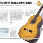 Guitarist magazne review of B-40